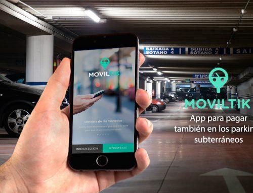Aprovecha las ventajas de Moviltik también en los parkings subterráneos