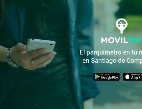 Santiago de Compostela paga la zona azul a través del teléfono móvil con Moviltik