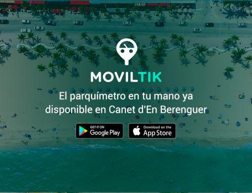 Moviltik aterriza en Canet d'En Berenguer, la app que permite pagar la zona ORA a través del móvil