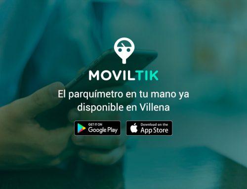Los villenenses ya pueden utilizar Moviltik para pagar el ticket de la ORA a distancia