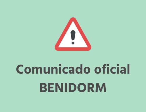 Medidas extraordinarias en relación con el Servicio de Estacionamiento Regulado (ORA) de Benidorm