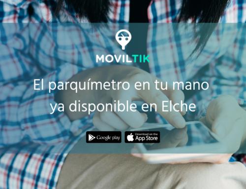 ¡Moviltik llega a Elche! Ya puedes utilizar la app para pagar la zona azul