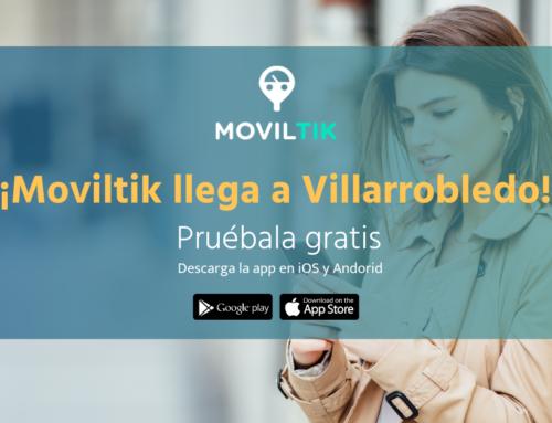 ¡Moviltik llega a Villarrobledo! Ya puedes utilizar la app para pagar la zona azul